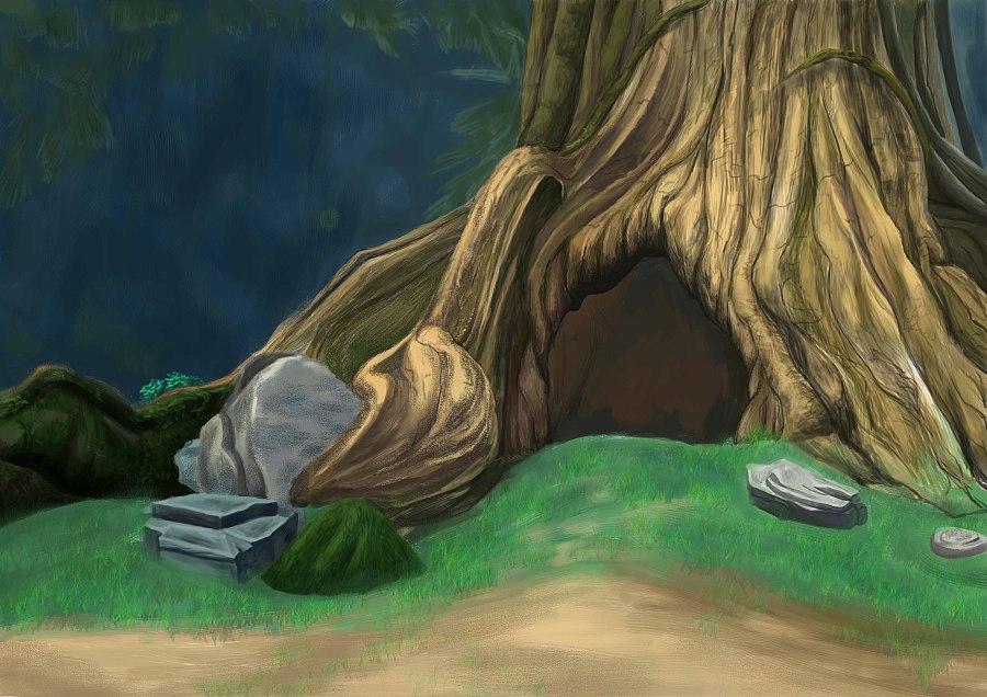 龟的俯视图手绘