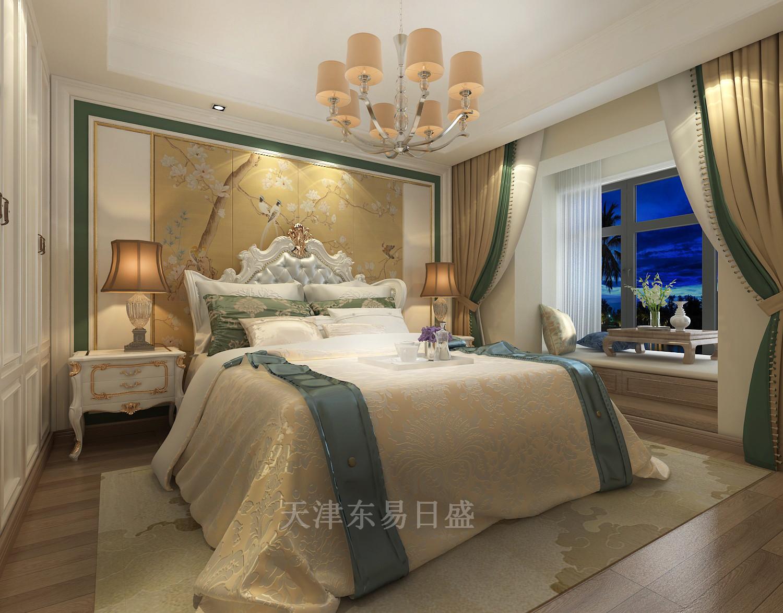 天津东易日盛-香水园法式风格168平米装修效果图图片