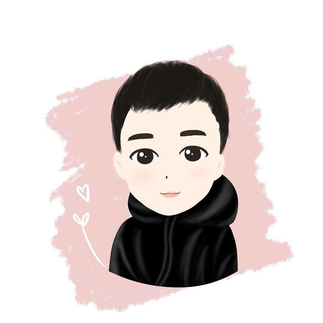 q版男生头像|动漫|肖像漫画|0九九0 - 原创作品
