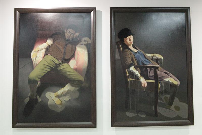 油画|纯艺术|川美油画毕业展 - 原创设计作品图片