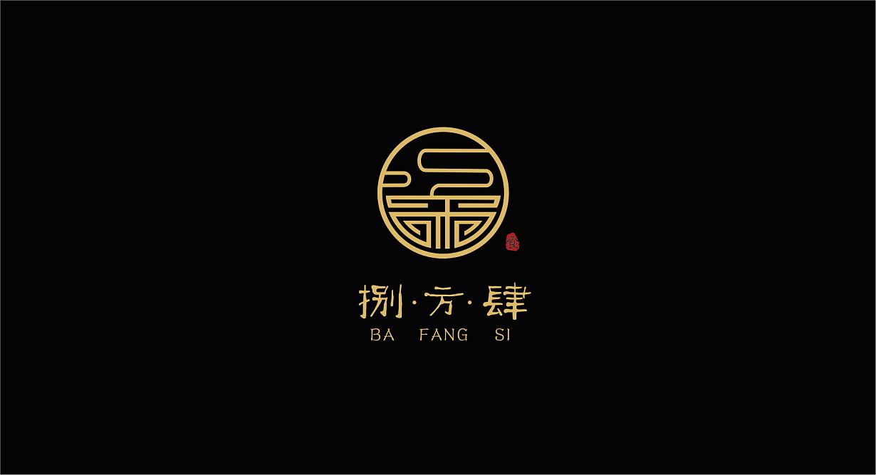 捌方肆餐饮公司logo图片