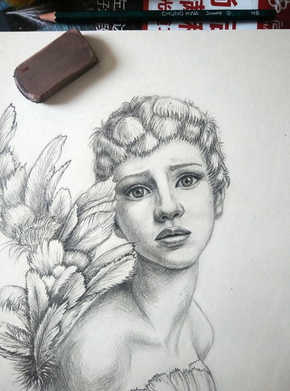 铅笔画图片