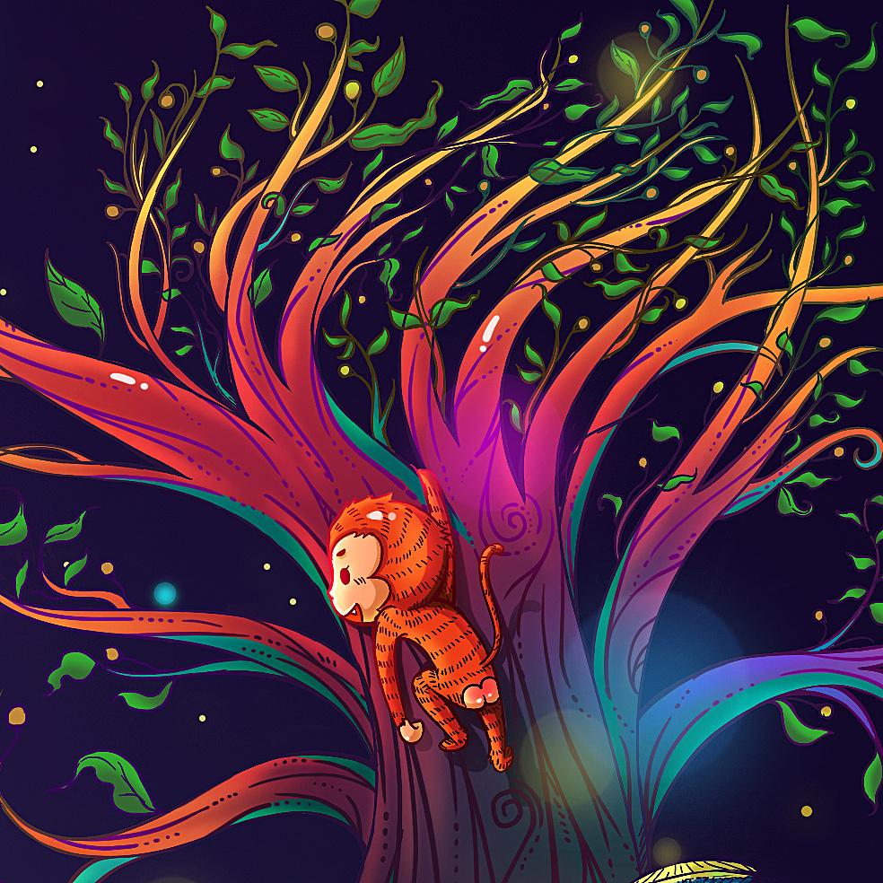 女儿的童话世界