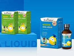 高端膳食营养补充剂包装系列设计