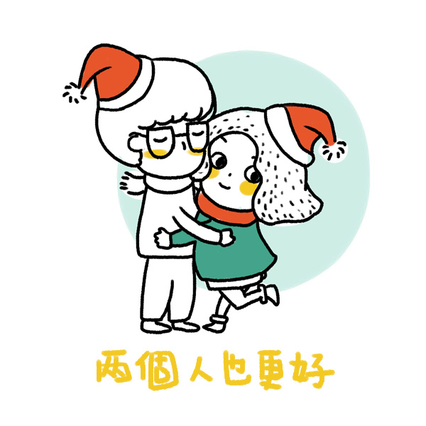 圣诞卡通小头像
