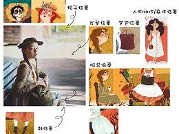 鹿白-插画:零基础入门--临摹的时候你需要思考什么?(上)