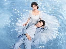 网剧《他和她的恋爱剧本》全案海报设计