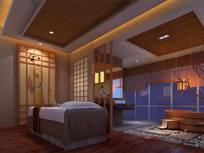 日式美容院-美容院装修设计风格,美容院门头装修设计效果图,美容院