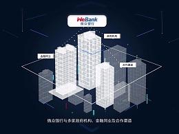 点线科技风MG动画【微众银行】银税互动金融服务宣传片