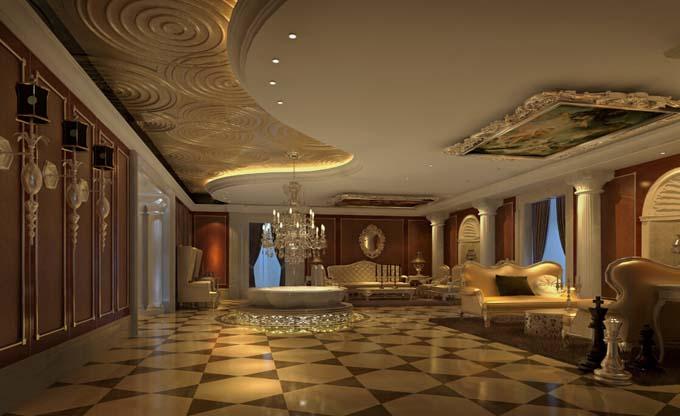 丽妍欧式美容院装修设计-乐山专业特色美容院装修