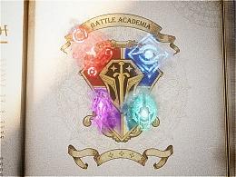 英雄联盟-战斗学院H5开篇动画
