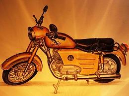 【吾爱罗_手绘】彩铅摩托之《幸福250十周年纪念版》