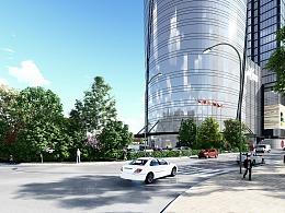 商业街景观动画
