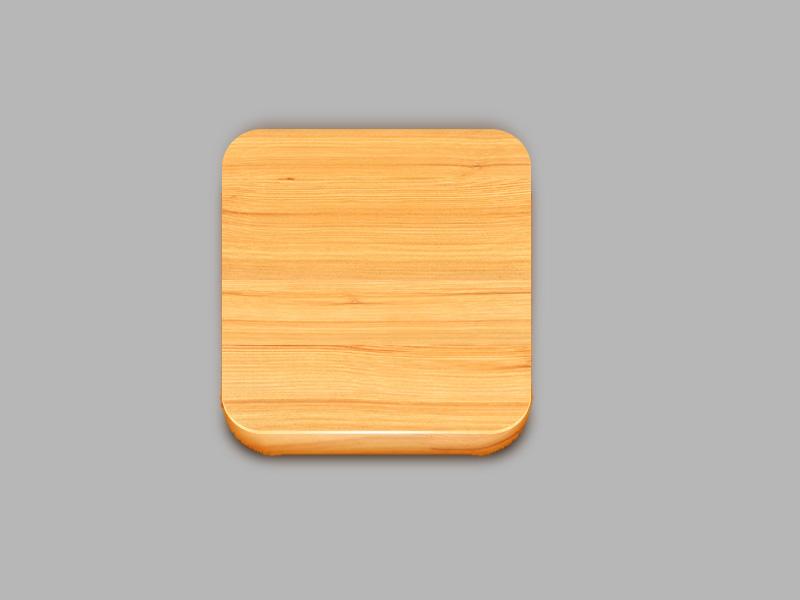 临摹木质图标|ui|图标|傍晚&明月 - 原创作品 - 站酷