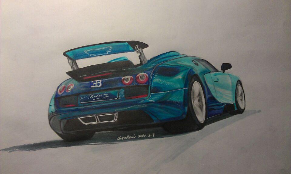 汽车手绘,马克笔|工业/产品|交通工具|crjames - 原创