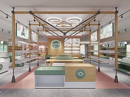 哈喽设计 | WaWa母婴体验店 空间设计