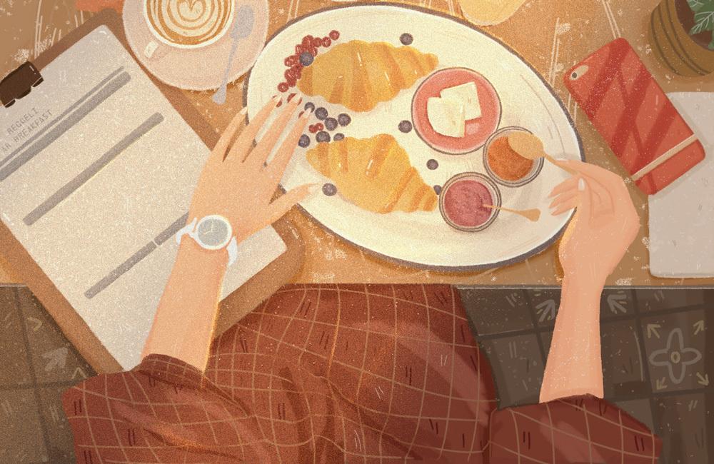 一个人吃饭也是神圣的事情