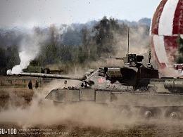 SU-100坦克建模渲染