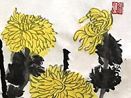 潮品国画-秋韵(作者 张远飞)