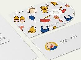 儿童画室logo_简易的儿童画室logo |平面|标志|薄情寡义丶 - 原创作品 - 站酷 (ZCOOL)