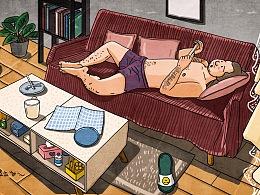 我的老公从漫画中来