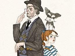 法国畅销书《做人不要太过分》封面和插图