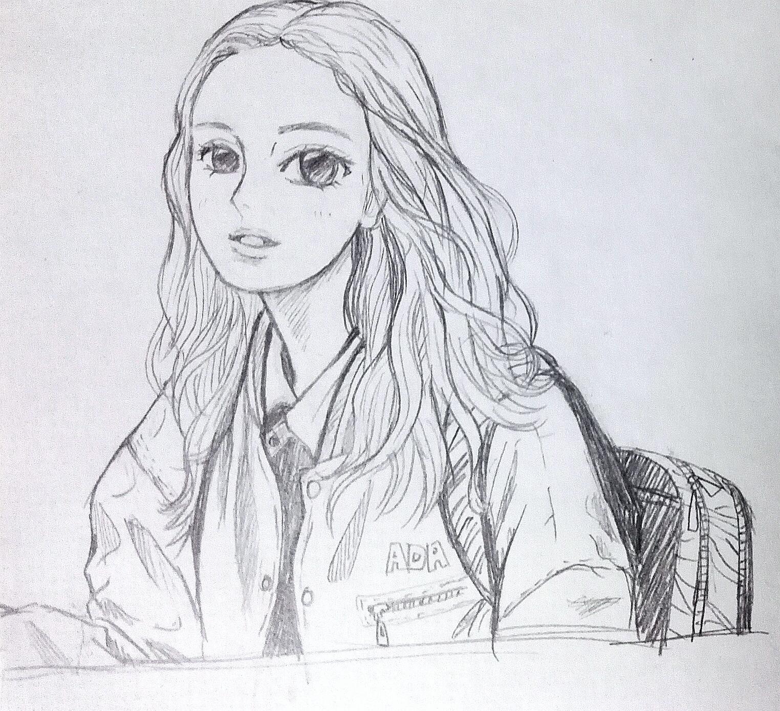 人物 随笔 女生漫画头像