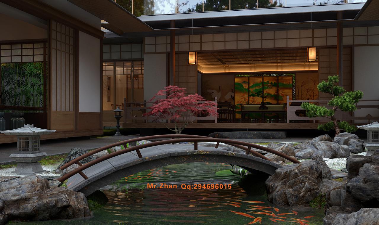 日式园林图片