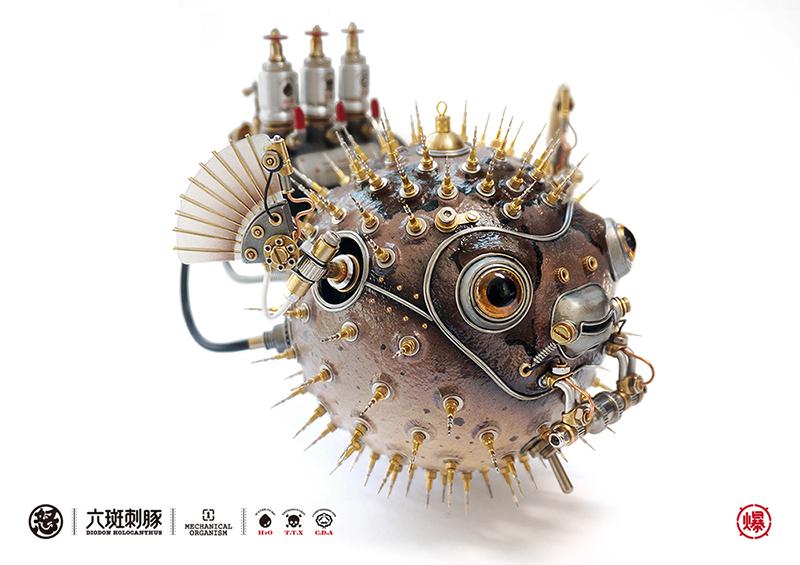 查看《愤怒的毒物 —— 机械小刺鲀!》原图,原图尺寸:800x565