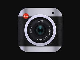 扁平化&半写实莱卡相机