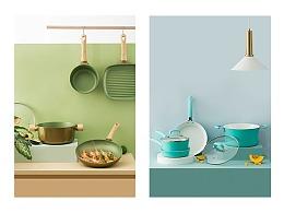 精致煮妇的厨具 I 炊大王锅具组合 I 当下视觉摄影