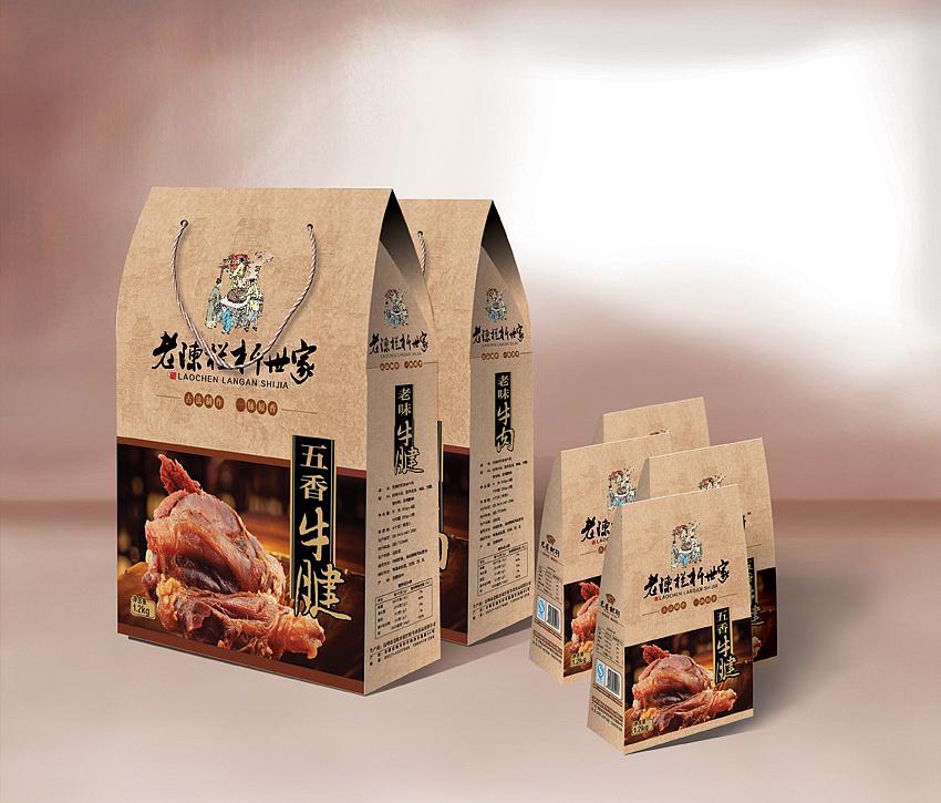 特产牛肉包装设计 Jayxu 平面 包装 设计师徐路