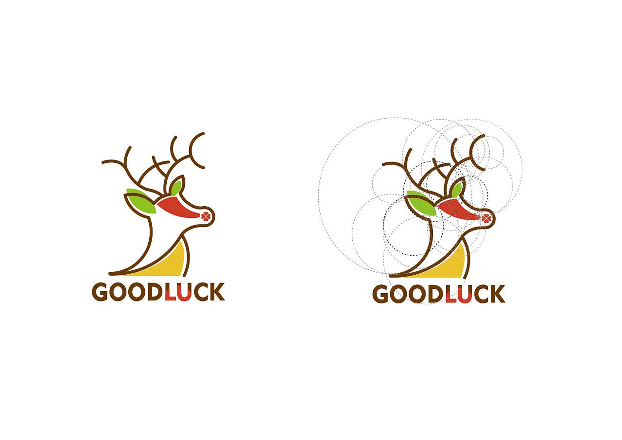 goodluck标志设计