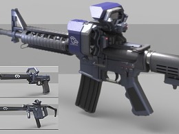 保卫者主题枪械设计x3