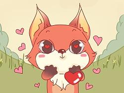 表情包——狐小嫌