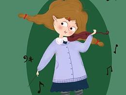 小提琴小姐姐