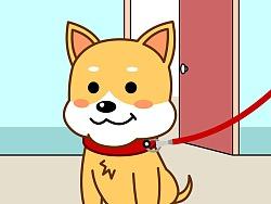 公益广告漫画《文明养犬 和谐社区》