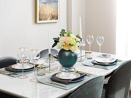 tablesetting 餐桌布置 餐具摄影 餐桌美学系列4