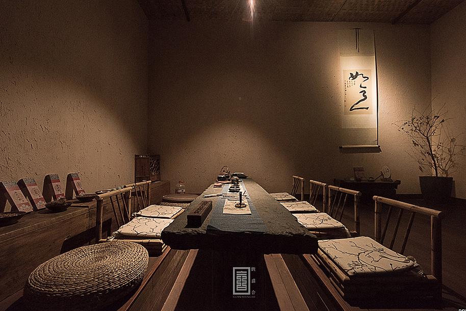 """茶空间设计""""知己圜""""——观盛合设计"""
