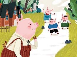 《三只小猪》