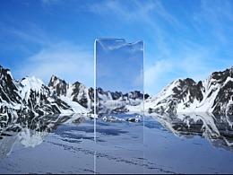 Rock-hydrogel screen protector