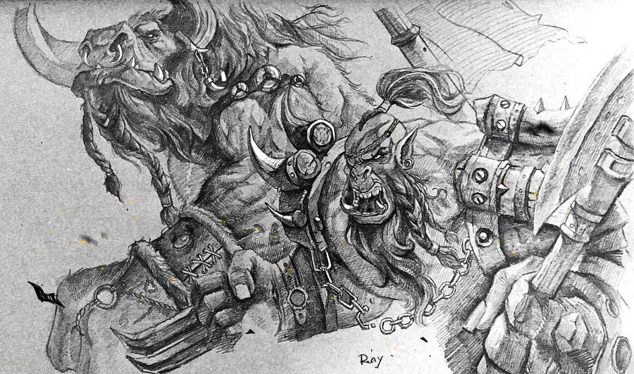 世界名画 伦勃朗素描(未分层),美术绘画,其他设