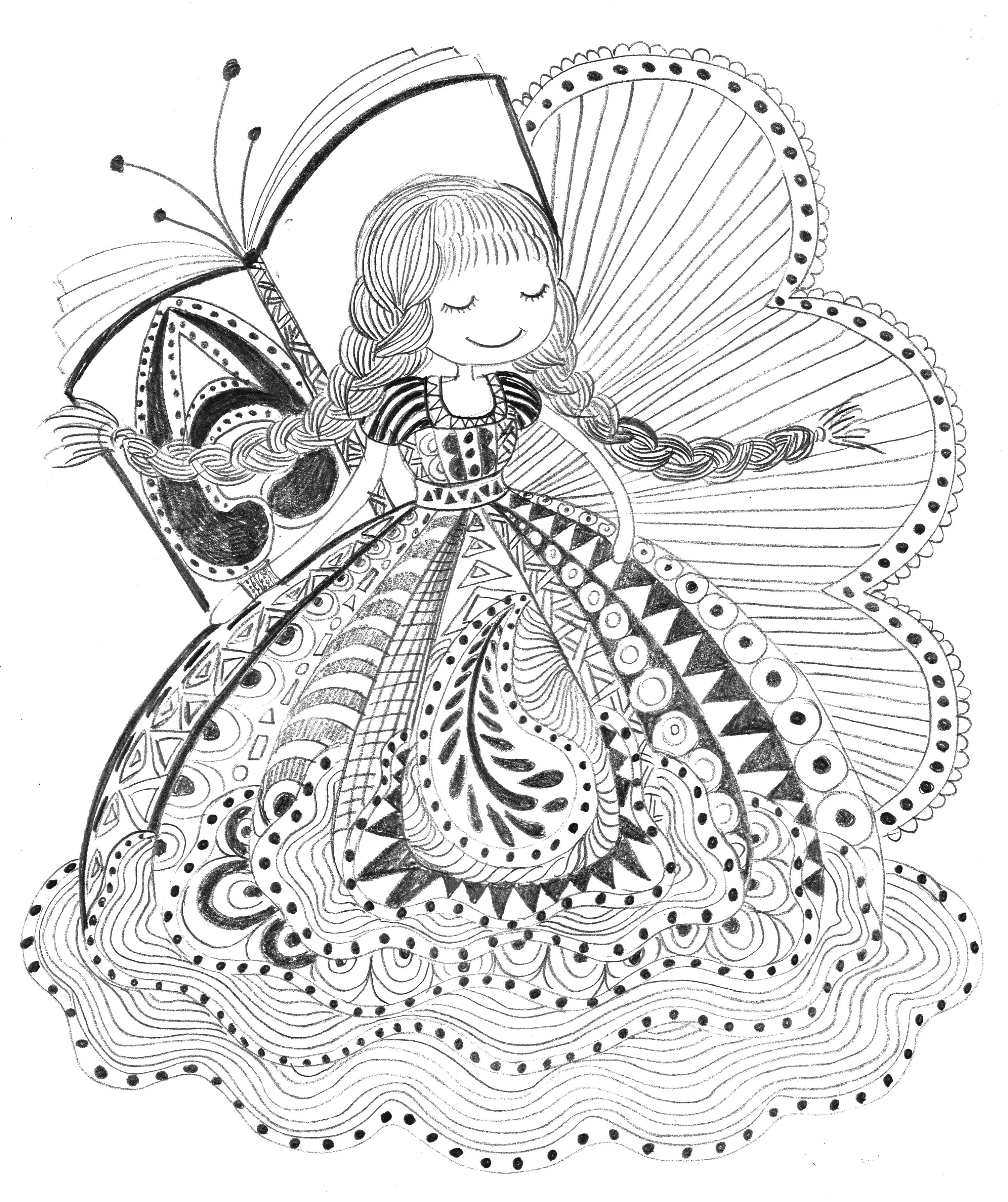 黑白线条风格|插画|商业插画|wanw - 原创作品 - 站酷图片