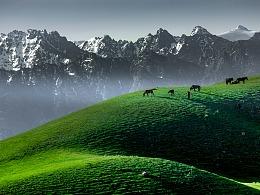 新疆101省道——白杨沟风景区