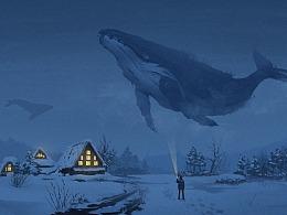 白川的鲸鱼