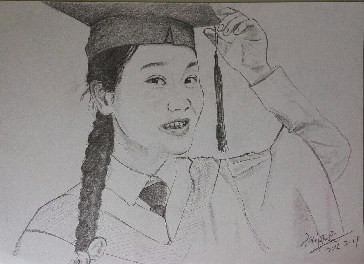朋友的肖像画