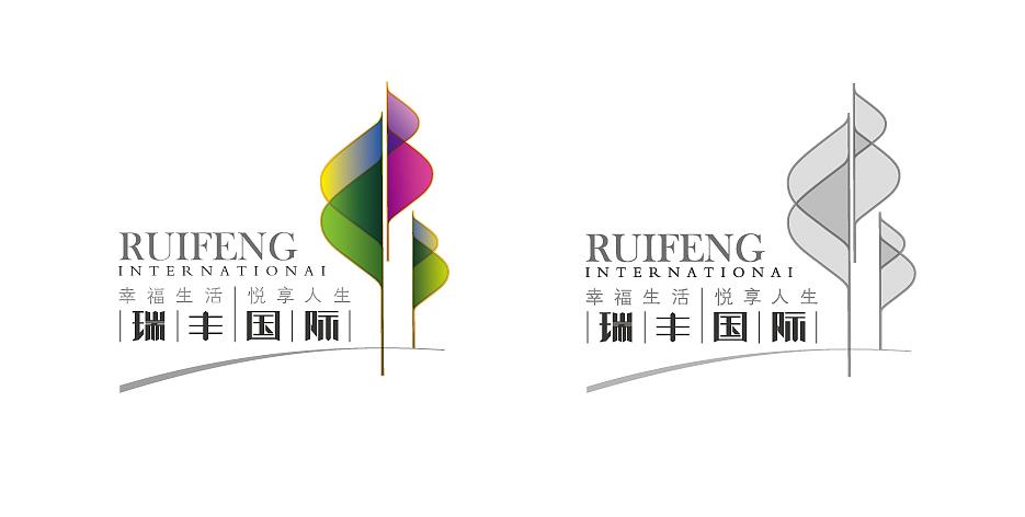 房地产logo设计方案图片