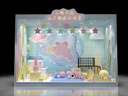 春季购物狂欢节 春节 橱窗 效果图设计