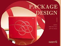 年·结丨OPPO 新年礼盒包装设计