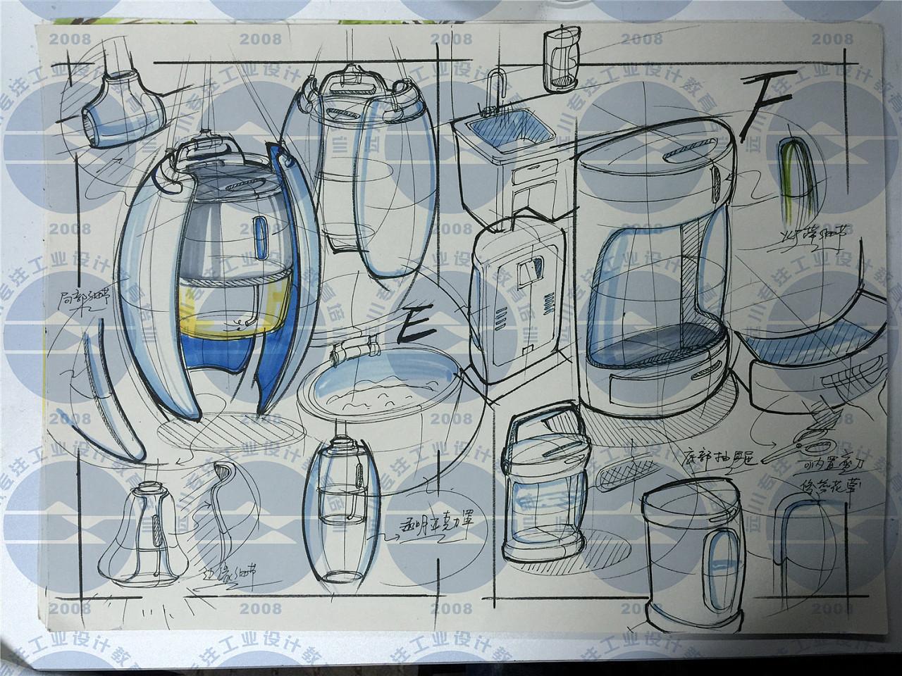 工业设计考研快题 工业/产品 其他工业/产品 zhang898